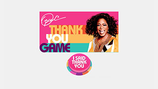 OWN and Oprah.com Launches Oprah's Thank You Game on Facebook