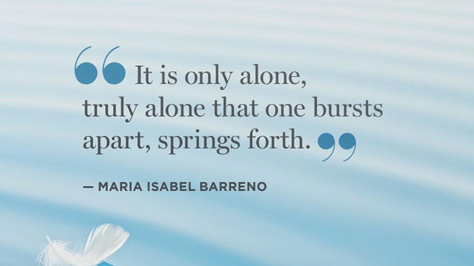 Solitude Quotes Sayings Quotesgram
