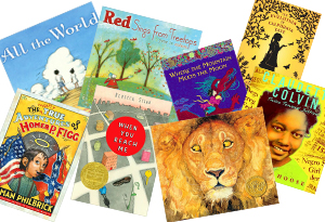 Newbery and Caldecott Medal-winning children's books