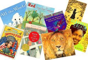 Newbery and Caldecott Medal-winning children's books
