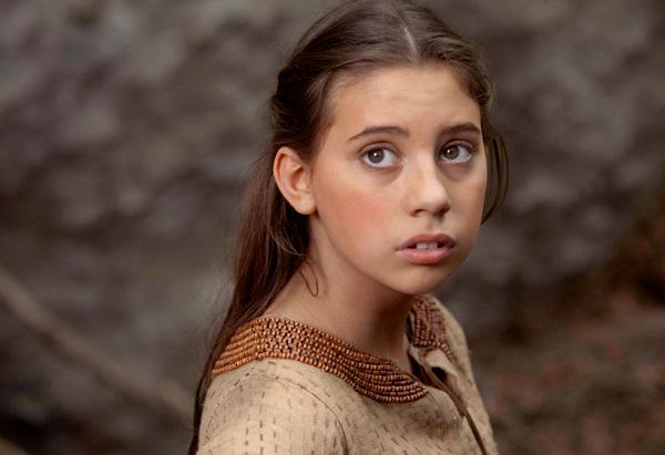 Skye Bennett as young Martha