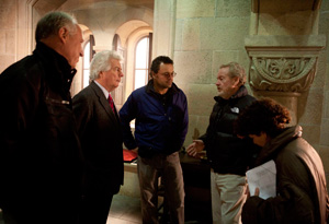 Ridley Scott and director Serigio Mimica-Gezzan