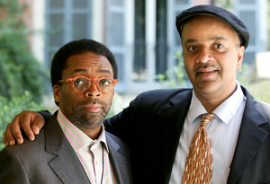 Author James McBride and director Spike Lee