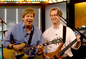 Rock Bottom Remainders Dave Barry and Ridley Pearson