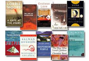 Jonathan Franzen's reading list