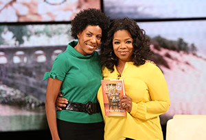 Ayana Mathis and Oprah Winfrey