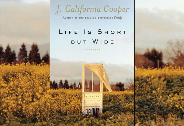 life is short but wide wake of the wind author J. california cooper