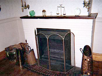 Day Five paton dorrie fireplace.