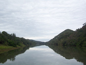 The scenic view from the Kariega River
