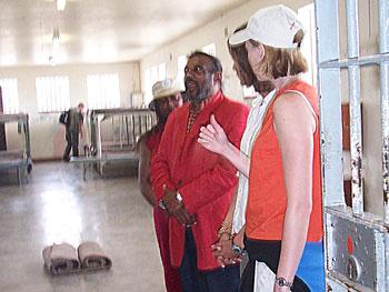Former Robben Island prison Indres Naidoo