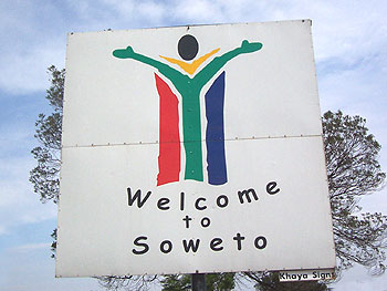 Day Three begins in South Africa in Soweto.