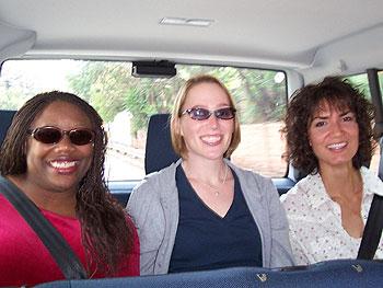 Tiffany, Carri and Marina