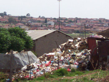 Soweto is a city of sharp economic contrasts.