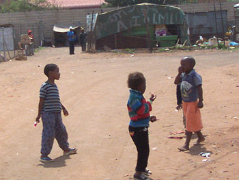 Day Three in the Motsoaledi squatter camp.