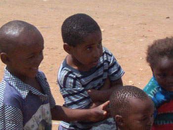 Children in Soweto