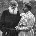 Leo and Sonya Tolstoy