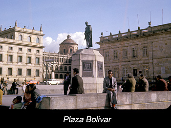 Journey Colombia Plaza Bolivar, Bogota
