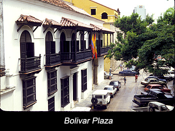 Journey Colombia Cartagena Boliver Plaza