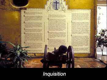 Journey Colombia Spanish Inquisition