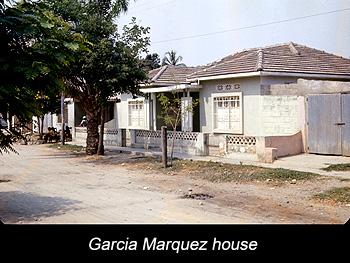 Journey Colombia Garcia Marquez's grandparents' house