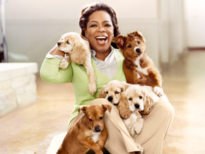Oprah and Sadie on the June O, The Oprah Magazine cover