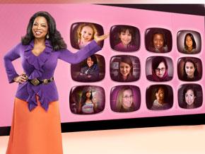 Oprah in the November issue of O, The Oprah Magazine