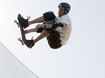 Tony Hawk puts on a show