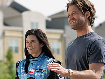 Danica Patrick and Nate Berkus