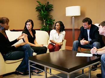 Jada Pinkett Smith with the 'Oprah's Big Give' contestants