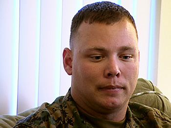 Karl was awarded three Purple Hearts for injuries suffered in Iraq.