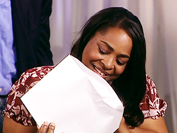 Marlene's envelope is empty.