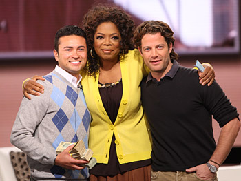 Trey, Oprah and Nate