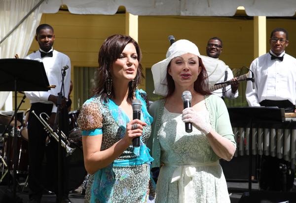 Martina McBride and Naomi Judd