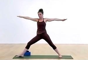 standing vinyasa flow yoga poses part 2  video