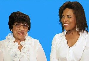 Mildred and Sharon Robinson