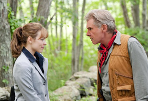 Harrison Ford and Rachel McAdams in Morning Glory