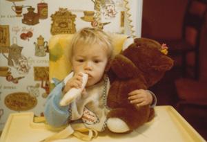 James Franco as a baby
