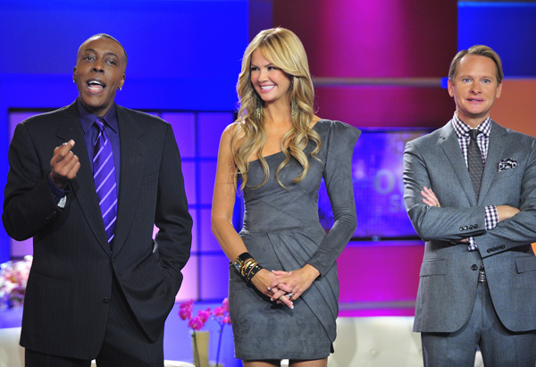 Arsenio Hall, Nancy O'Dell and Carson Kressley