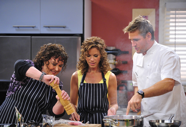 Terey, Christina and Curtis Stone