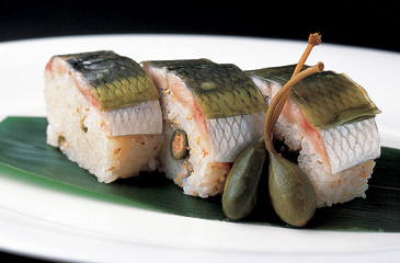 Bo Sushi with Herring