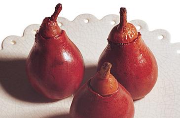 Smoke-Roasted Pears