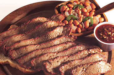 Lean and Mean Texas Barbecued Brisket