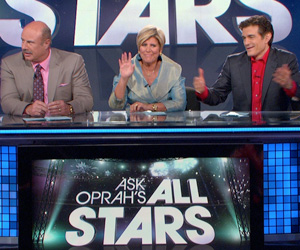 Dr. Phil, Suze Orman and Dr. Oz