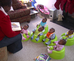 Mia and the Sextuplets