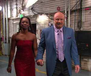 Dr. Phil with Shantay