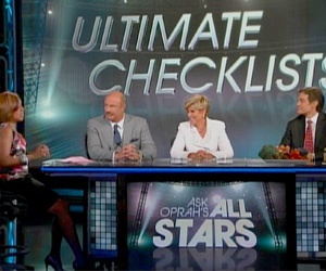 Gayle King with the All Stars
