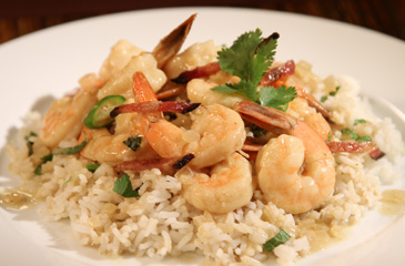 Ford's Shrimp Curry with Ginger Rice
