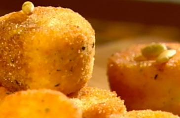 Crisp Goat Cheese Bites
