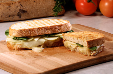 Apple, Brie & Arugula Panini