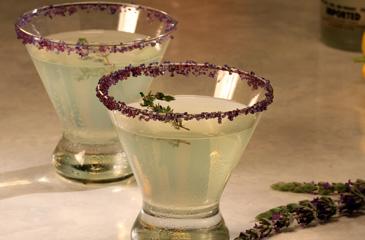 Lemon-Thyme Martini